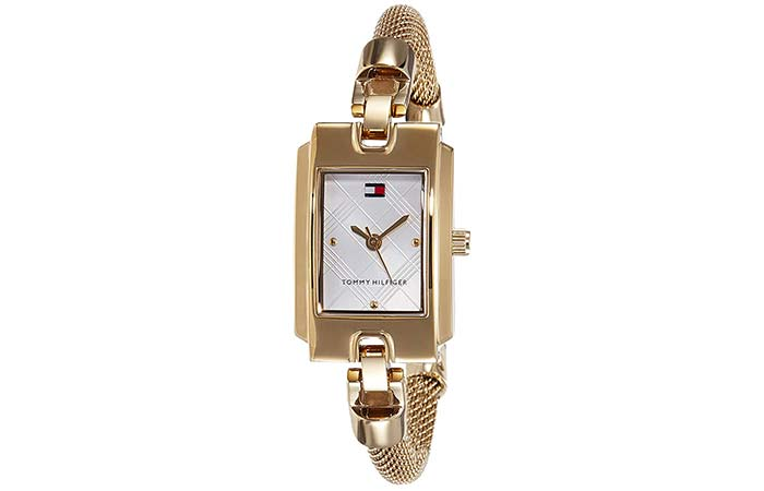 Square Dial Analog Watch