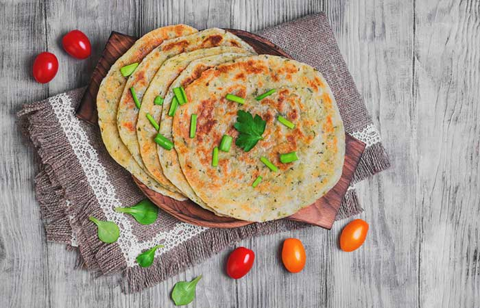 Veg-Stuffed-Flatbread