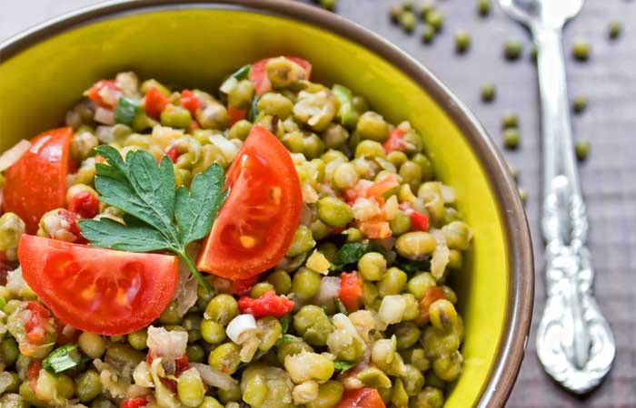 Vegetarian-Mung-Bean-Salad