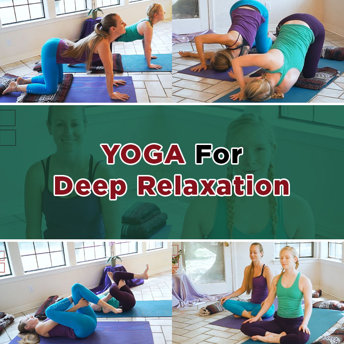 Yoga for Deep Relaxation, Sleep, Insomnia, Anxiety & Stress Relief
