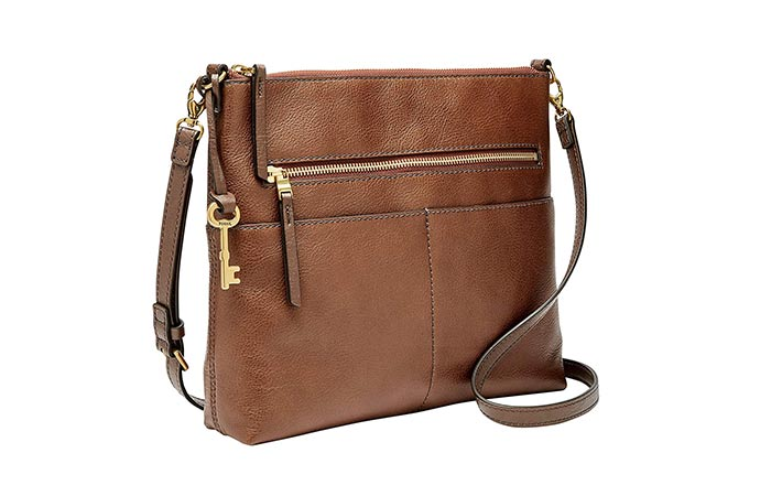 2. Fossil Fiona Large Crossbody Bag