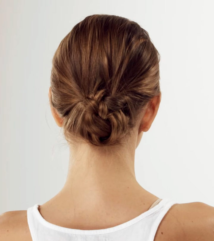 How To Do The Perfect Low Bun