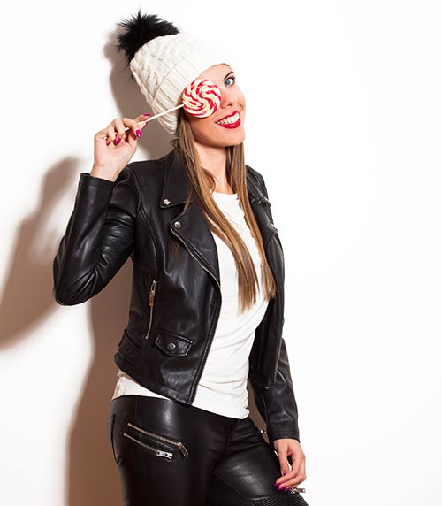 7. Leather Jacket