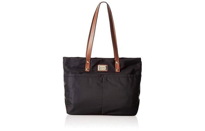 8. Calvin Klein Tote Shoulder Bag