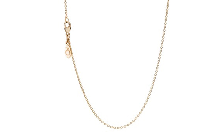 Light Weight Gold Necklace Designs - 6. Basic Gold Chain