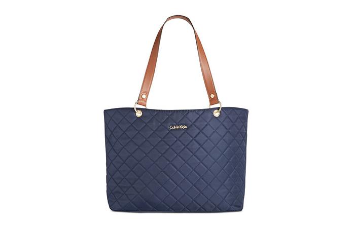 508d9ba09b Best Selling Ladies Handbags In India - 10. Calvin Klein Nylon Tote