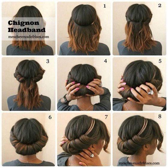 Chignon-Headband
