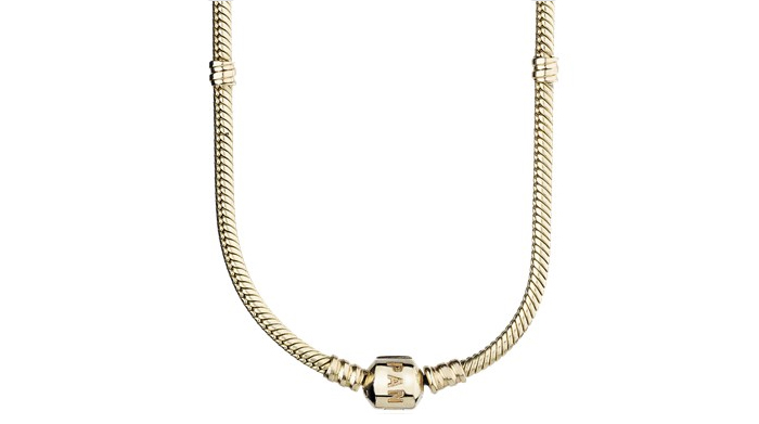 Light Weight Gold Necklace Designs - 7. Elegant Herringbone Chain