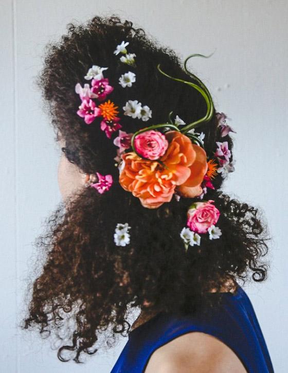 Floral-Hair