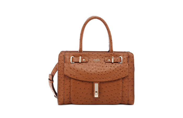 Best Selling Ladies Handbags In India - 9. Guess Kingsley Small Satchel