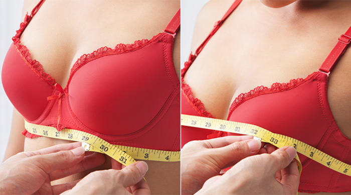 How To Choose The Right Bra - How Do You Measure Band And Cup Size?