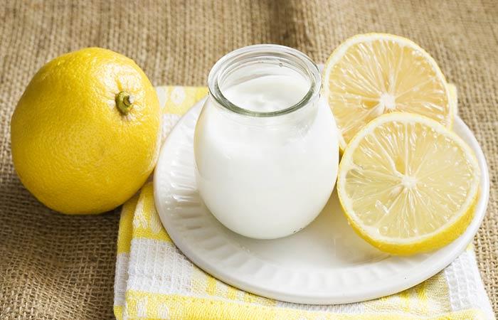 Lemon Juice And Yogurt - HOE YOGHURT TE GEBRUIKEN VOOR HAARGROEI