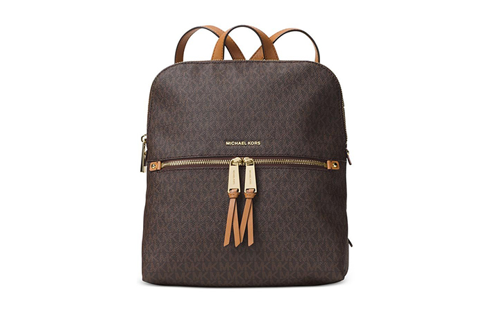 Best Selling Ladies Handbags In India - 20. Michael Kors Rhea Medium Backpack