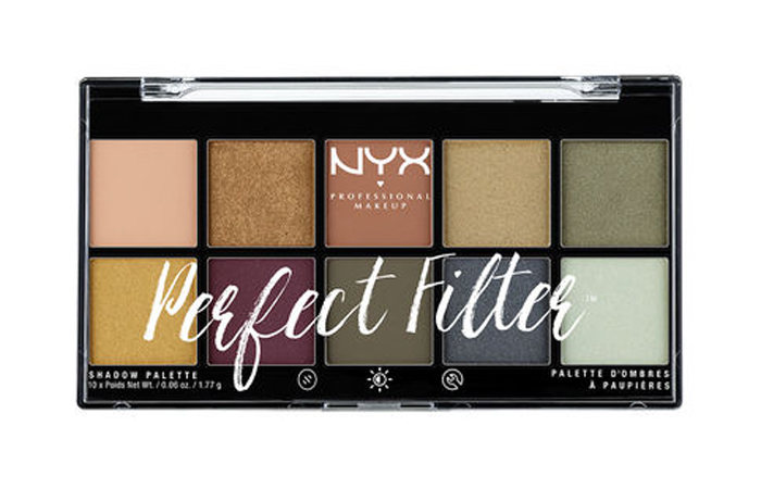 NYX Cosmetics - Perfect Filter Eyeshadow Palette