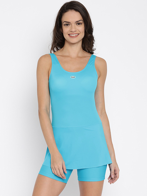Swimming Costumes For Ladies - 4. Sea Blue Swimwear