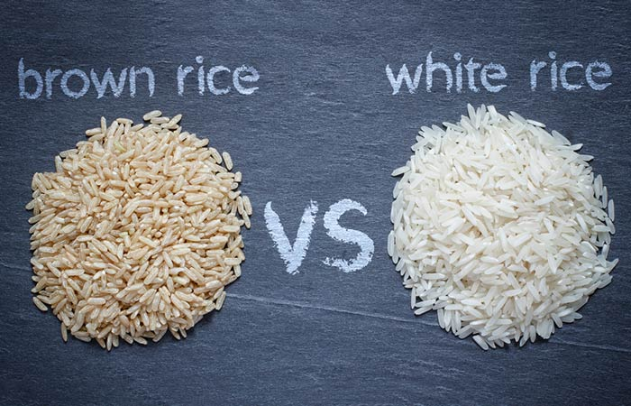 Brown Rice Vs White Rice