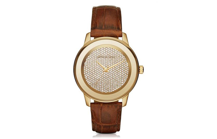 Most Popular Michael Kors Watches For Women In India - 19. Kinley Crystal Watch MK 2455
