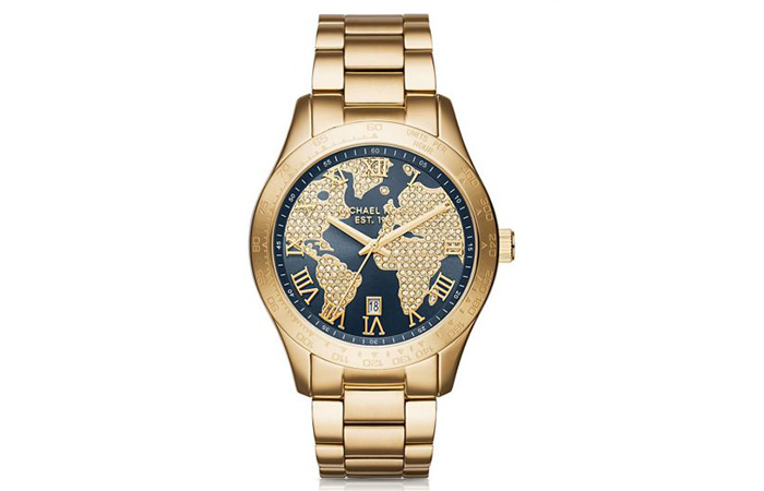 de83eaee273d Most Popular Michael Kors Watches For Women In India - 20. Gold Layton Pave  MK