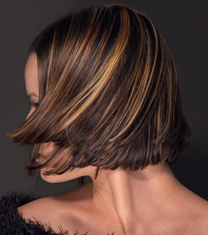 highlight hair styles brown bob hairstyles with highlights hairstyles 4091