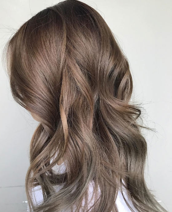 Ashy-Brown-And-Grey-Highlights