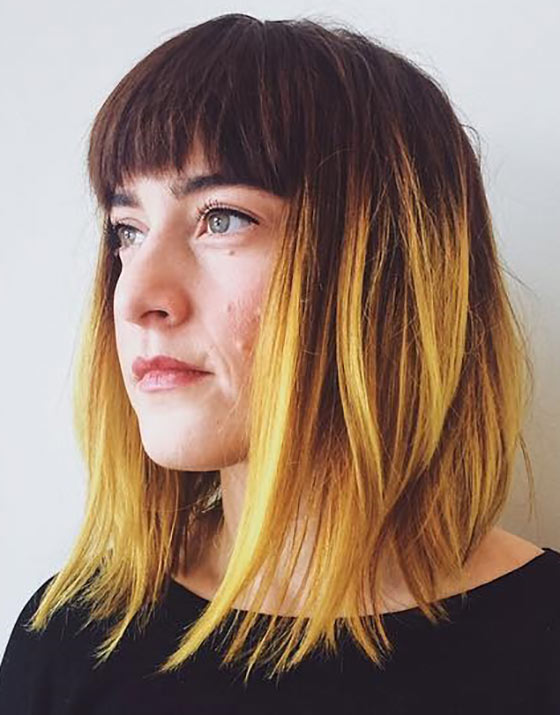 Bright-Yellow-Ombre-With-Bangs