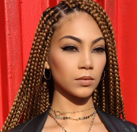 Caramel-Box-Braids