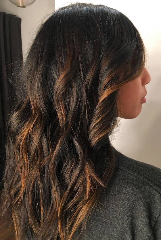30 chic highlight ideas for your brown hair caramel highlights pmusecretfo Images