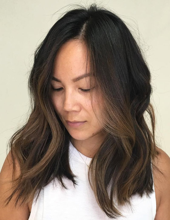 30 chic highlight ideas for your brown hair coffee brown highlights solutioingenieria Gallery