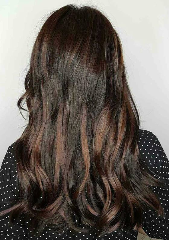 Dark,Chocolate,Balayage