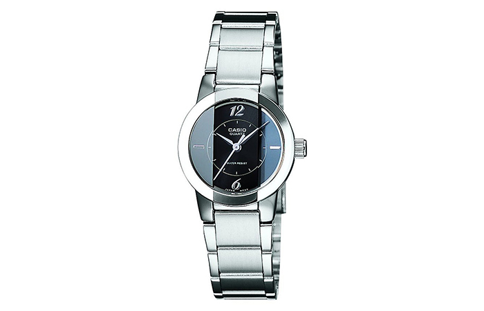 Best Selling Casio Watches For Women - 3. Enticer Analog Black Watch