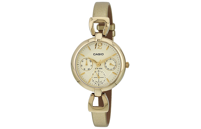 Most Popular Casio Watches For Women - 13. Enticer Gold Watch