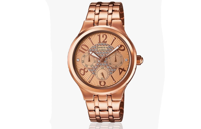 Best Selling Casio Watches For Women - 5. Gold Analog Watch