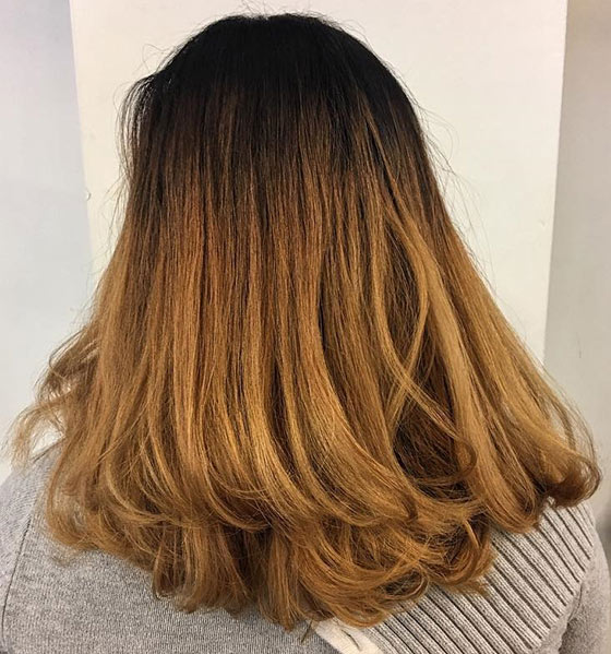 Golden-Ombre-On-Flicked-Out-Ends