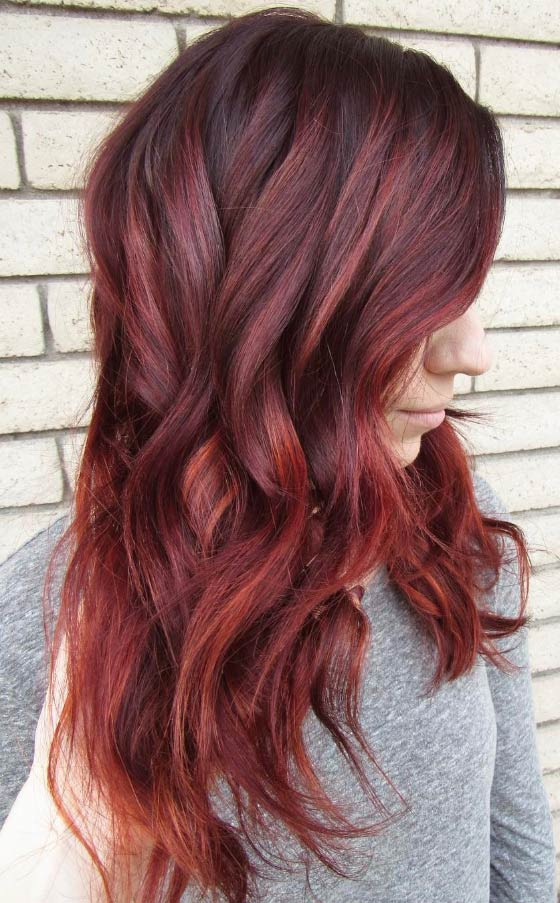 Lava-Red-Balayage