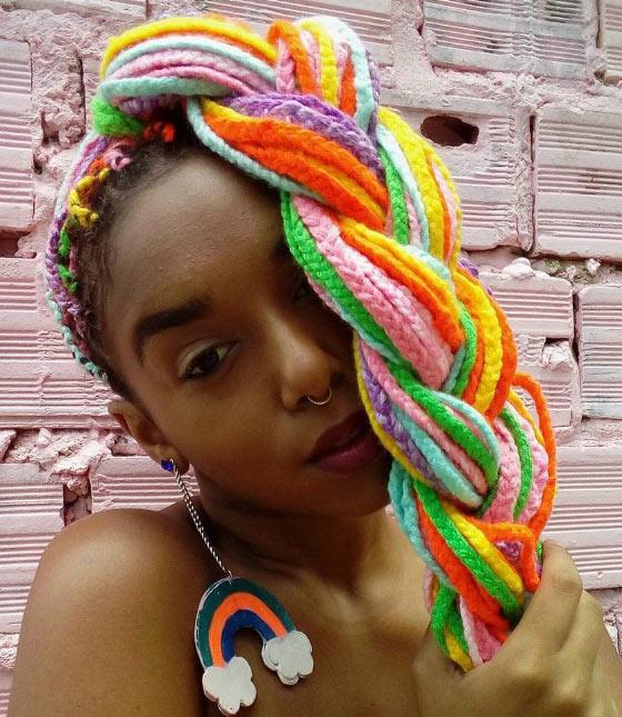 Rainbow-Box-Braids