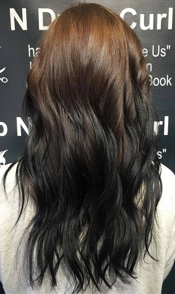Reverse-Ombre-On-U-Cut-Hair