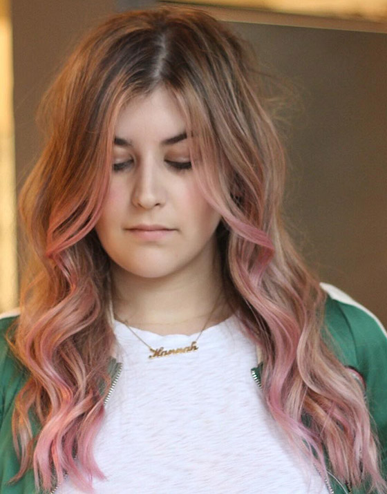 Rose-Gold-Ombre-On-Bedhead-Hair