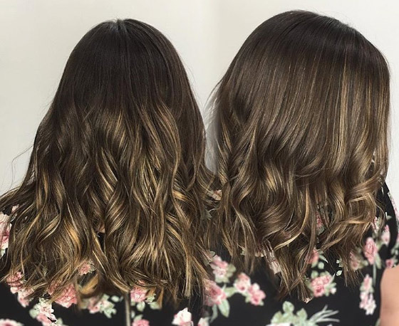 Shimmery-Blonde-Highlights