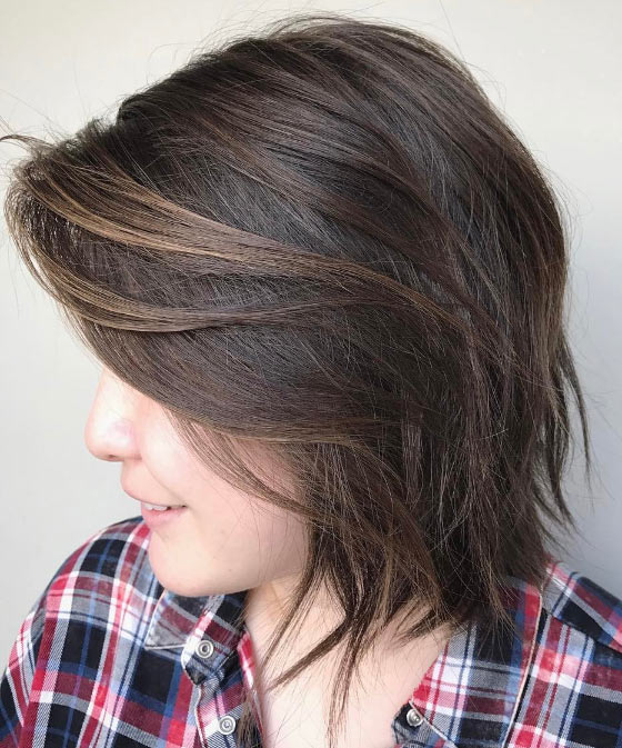 Soft-Brown-Streak-Highlights