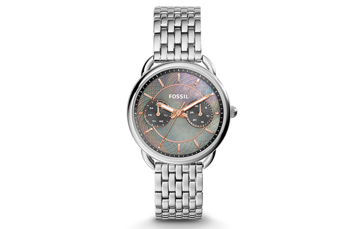 Best Fossil Watches For Indian Women - 16. Stainless Steel Multi-Function Watch