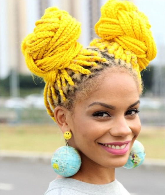 Sunshine-Yellow-Box-Braids