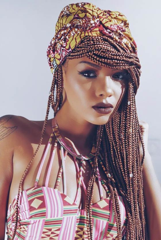 Turban-Box-Braids