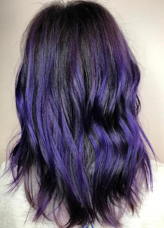 Ultraviolet-Balayage