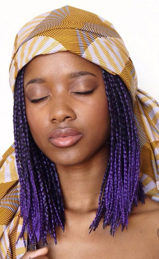 Violet-Box-Braids-Long-Bob