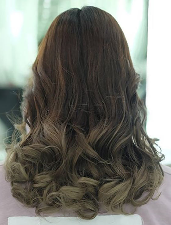 Walnut-Cappuccino-Ombre-On-Lower-Half-Curls