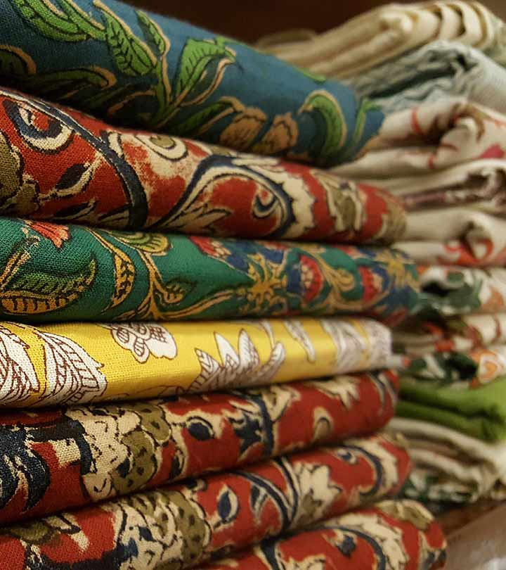 15 Timeless Kalamkari Sarees With Matching Blouses You Need To Check Out Right Now