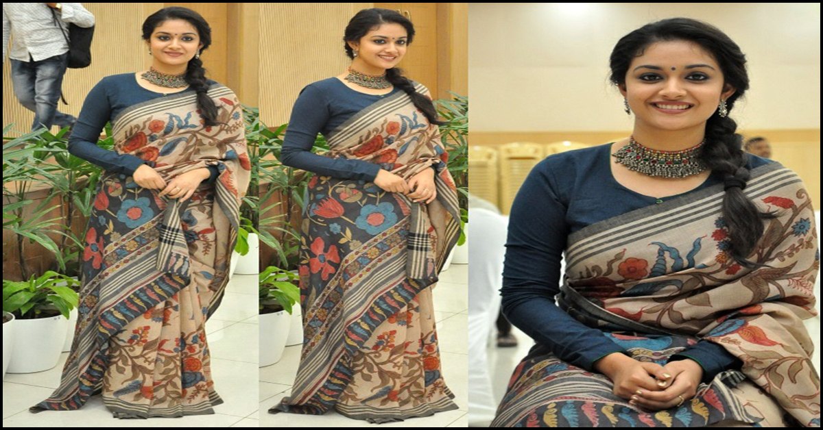 2fae5e5519 15 Timeless Kalamkari Sarees With Matching Blouse Designs