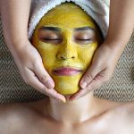 She Begins Rubbing Turmeric Onto Her Cheeks. When She Rubs It Off, The Results Are Unbelievable!