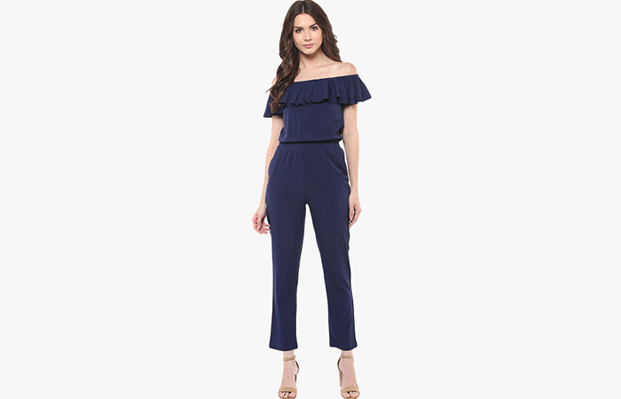 Blue-Off-shoulder-Jumpsuit
