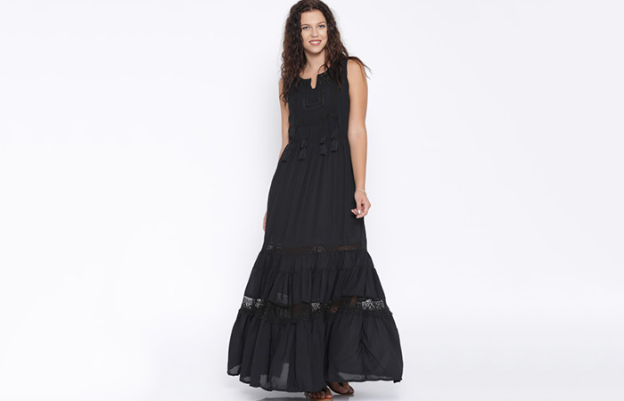 Dark-Colored-Flowing-Dresses